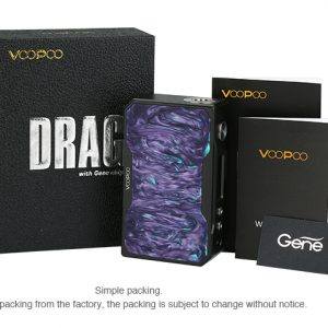 VOOPOO Black Drag Resin 157W TC Box MOD