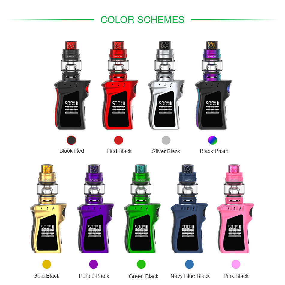 SMOK Mag Baby 50W TC Kit with TFV12 Baby Prince 1600mAh