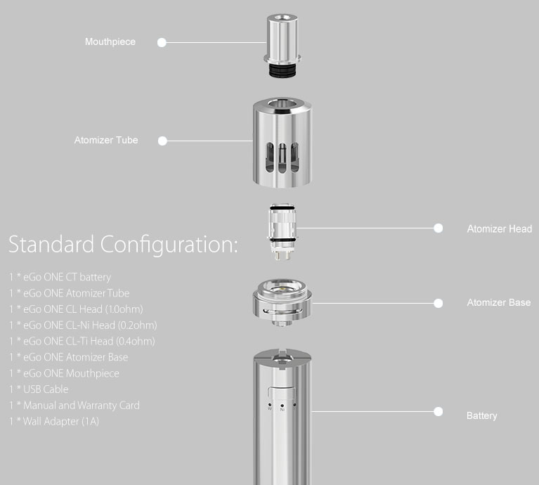 Joyetech eGo ONE CT Constant Temperature