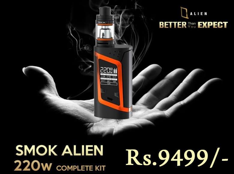 Smok Alien 220w in Pakistan by Vapebazaar