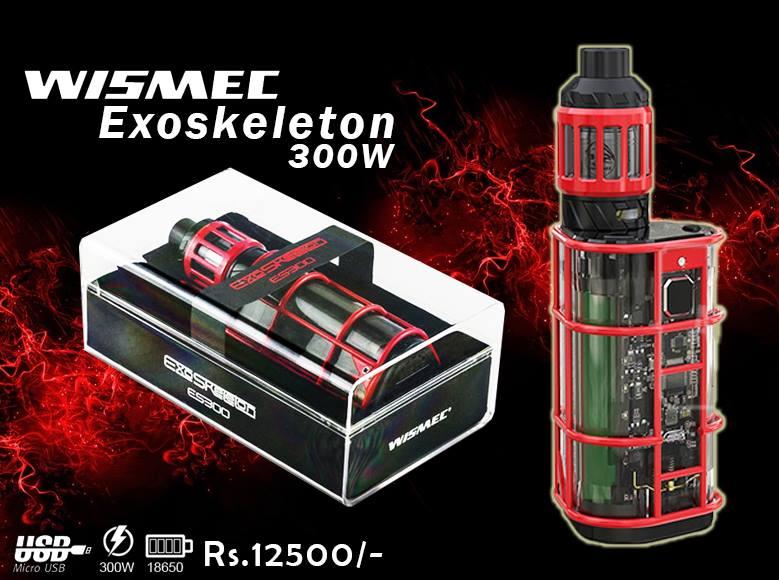 Wismec Exoskeleton Es300w Vape In Pakistan By VapeBazaar