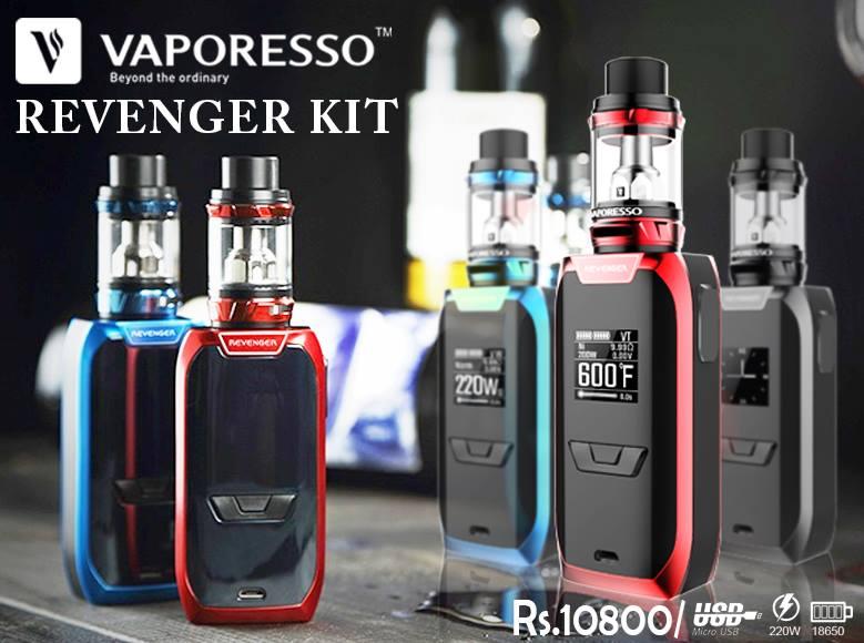 Vaporesso Revenger 220w Full Kit In Pakistan