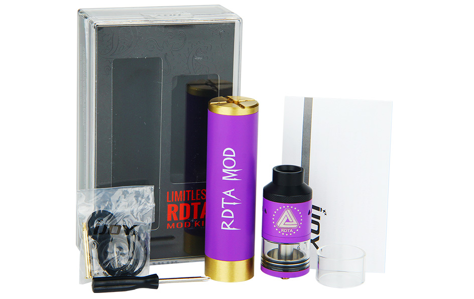 IJoy Limitless Rdta Mech Mod Kit With Battery2