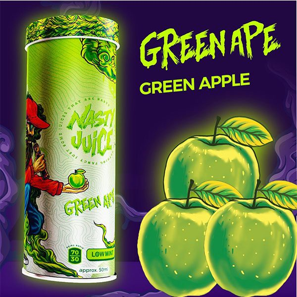 Nasty-Juice-Yummy-Fruity-Green-Ape-In-Lahore
