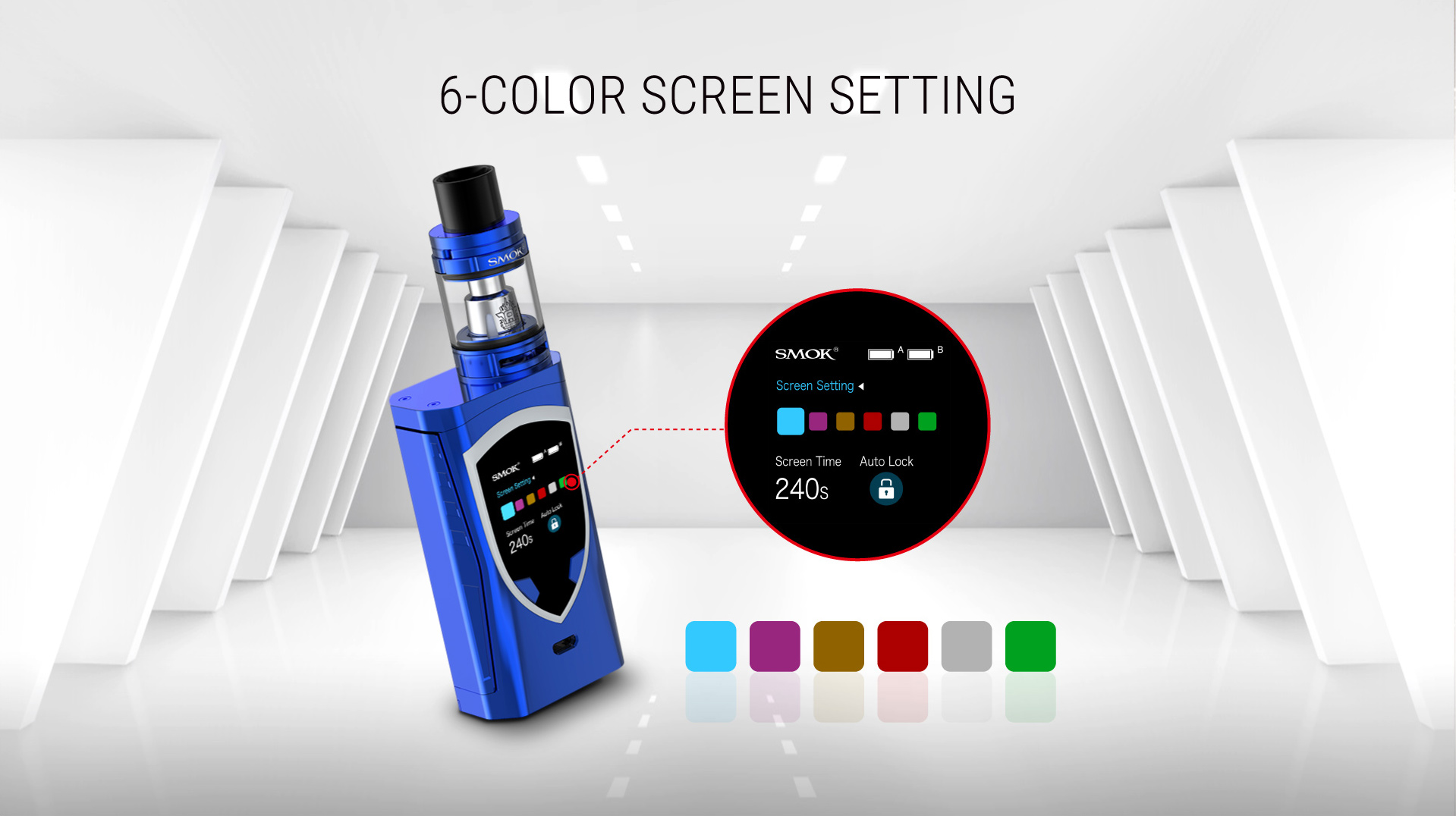 SMOK ProColor 225W TC Starter Kit online in pakistan