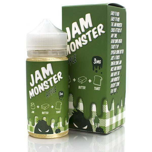 Jam-Monster-Apple-100ml-Eliquid-By-Vapebazaar