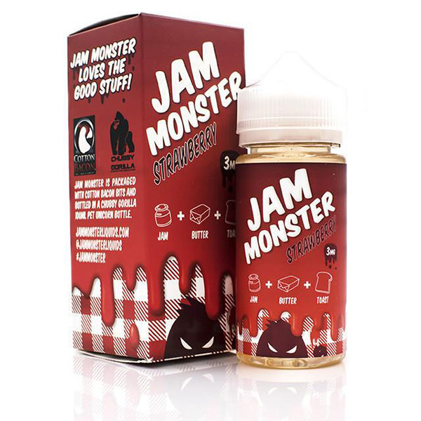 Jam-Monster-Strawberry-USA-Imported-Eliquid-In-pak
