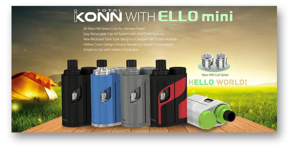 Eleaf iKonn Total with Ello Mini XL Full Kit 5.5ml