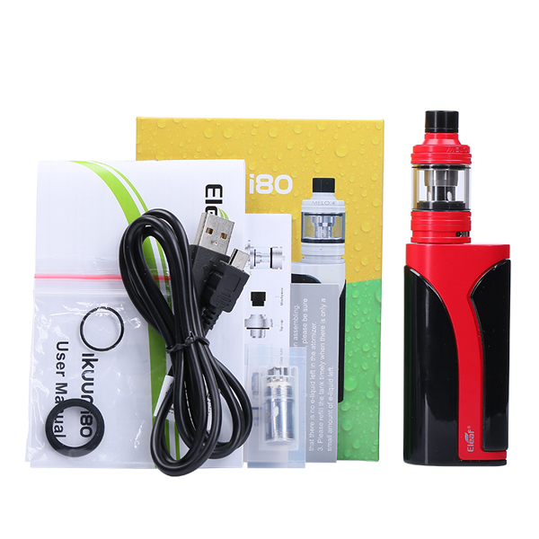 Eleaf iKuu i80 with Melo 4 TC Kit 3000mAh