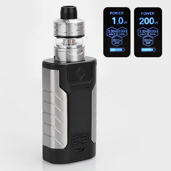 WISMEC SINUOUS FJ200 with Divider TC Kit 4600mAh online in pakistan