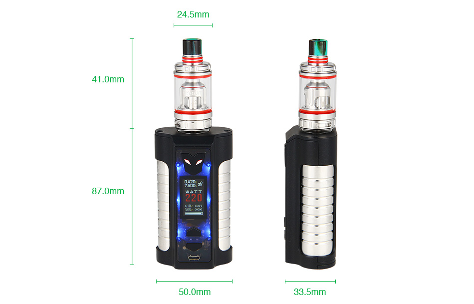 Sigelei MT 220W TC Kit with Revolvr Tank