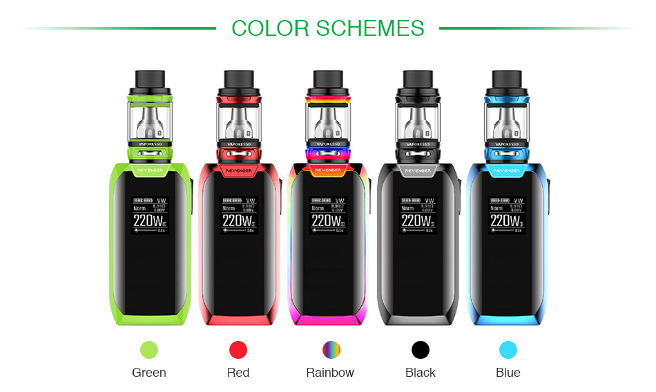 Vaporesso Revenger X 220W with NRG TC Kit