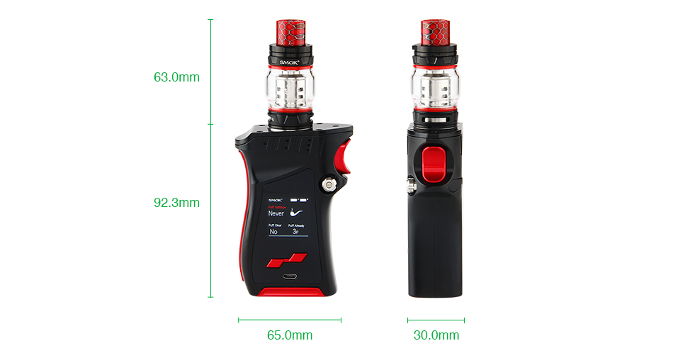 SMOK MAG 225W TC Kit with TFV12 Prince.
