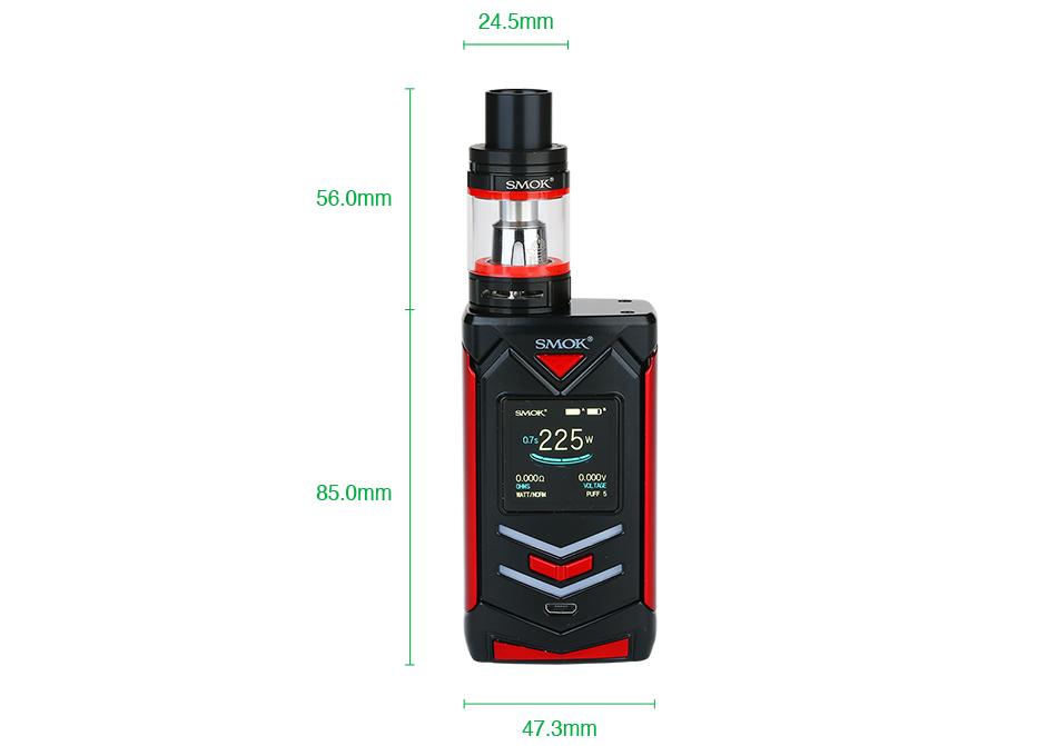 SMOK Veneno 225W TC Kit with TFV8 Big Baby Online Vape In Pakistan
