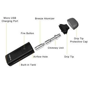 Aspire-Breeze-AIO-Kit-650mAh-Specs
