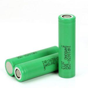 SAMSUNG-INR18650-25R-High-drain-Li-ion-Battery-20A-2500mAh-Vape-Battery....