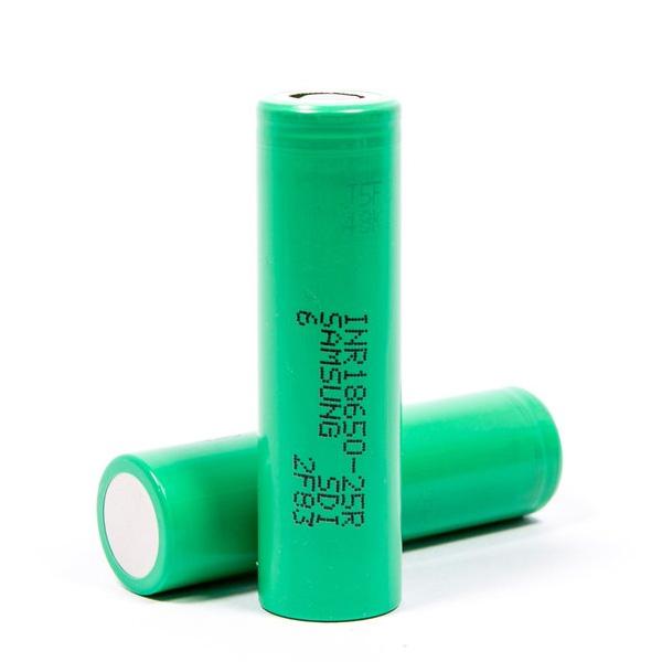 SAMSUNG-INR18650-25R-High-drain-Li-ion-Battery-20A-2500mAh-Vape-Battery