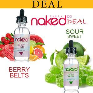 Naked 100 Eliquids Deal By Vapebazaar