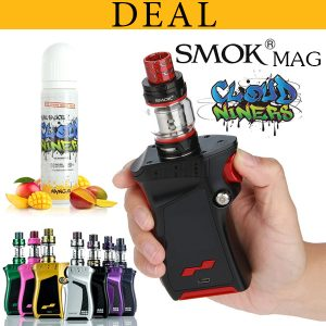 Smok Mag 225 With Cloud Niners Mango 60ml Eliquid