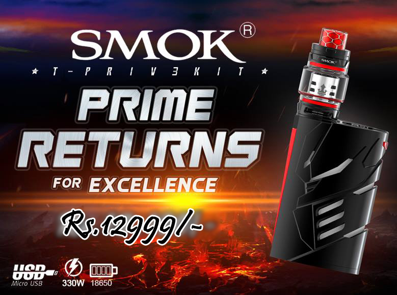 SMOK T-PRIV 3 WITH BATTERIES IN PAKISTAN VAPEBAZAAR