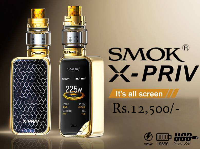 Smok X-priv With TFV12 Prince Tank In Pakistan