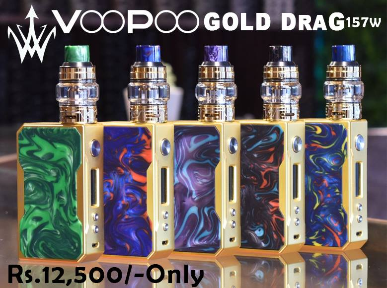 VOOPOO GOLD DRAG KIT IN PAKISTAN BY VAPEBAZAAR