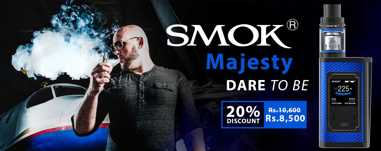 SMOK MAJESTY IN PAKISTAN