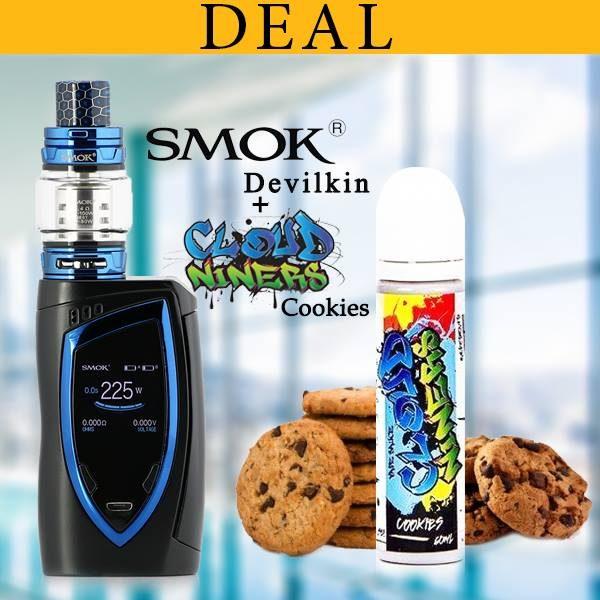 Smok Devilkin Kit With Cloud Niners Ejuice Deal By Vapebazaar