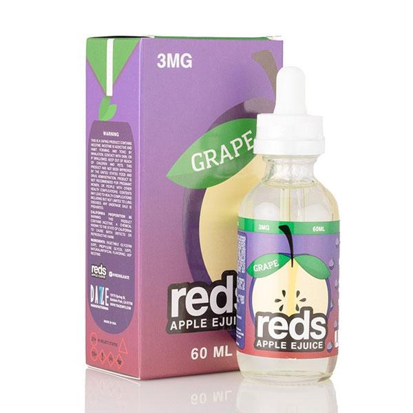 Buy Vape 7 Daze - Grape Reds Apple 60ml (3 , 6 mg) - Vape Bazaar