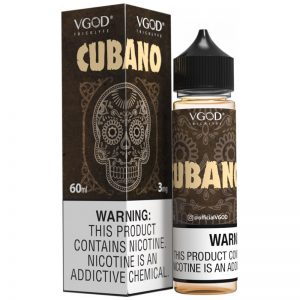 CUBANO E JUICE VGOD 60ml 3mg 6mg Nicotine in pakistan