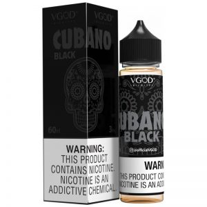 CUBANO black EJUICE VGOD 60ml 3mg 6mg Nicotine in pakistan
