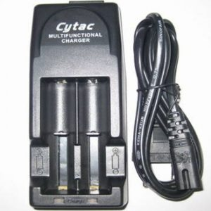 Cytac charger Dual Bay Vape 18650 Battery Fast Charger in pakistan