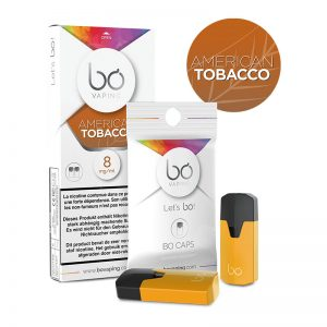 BŌ CAPS American Tobacco E Liquid PODS For Vape in Pakistan