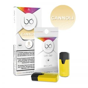BŌ CAPS Canolli E Liquid PODS For Vape in Pakistan