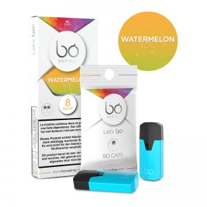 BŌ CAPS Watermelon Ice E Liquid PODS For Vape in Pakistan