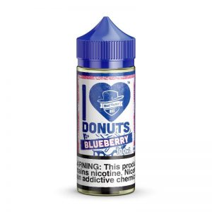 I Love Donuts Blueberry By Mad Hatter 100ml (3mg, 6mg) E Juice in pakistan