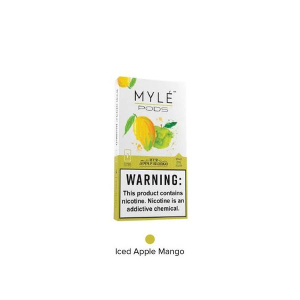 Myle-e-liquids-ice-apple-mango-online