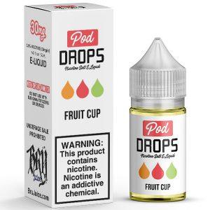 Pod-Drops-Salt-Fruit-Cup-e-liquids-in-pakistan