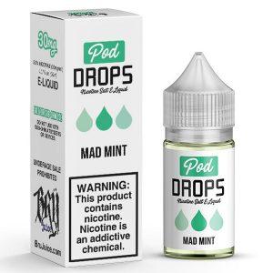 Pod-Drops-Salt-Mad-Mint-e-liquids-in-pakistan