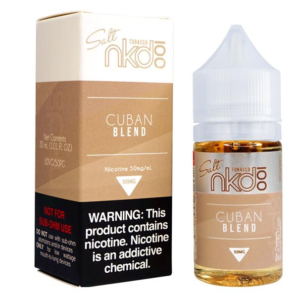 Cuban Blend By Naked 100 Salt E-Liquid 30ml (35 , 50) mg