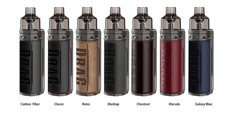 Buy VOOPOO Drag S 60W Pod Mod Online In Pakistan