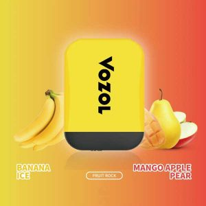 Vozol-Disposable Vape Banana Iced -Apple Mango Pear