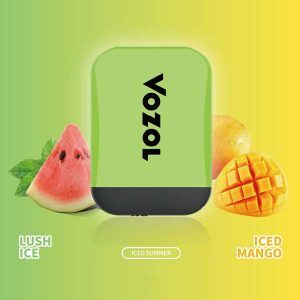 Vozol Lush Ice - Iced Mango Disposable Vape