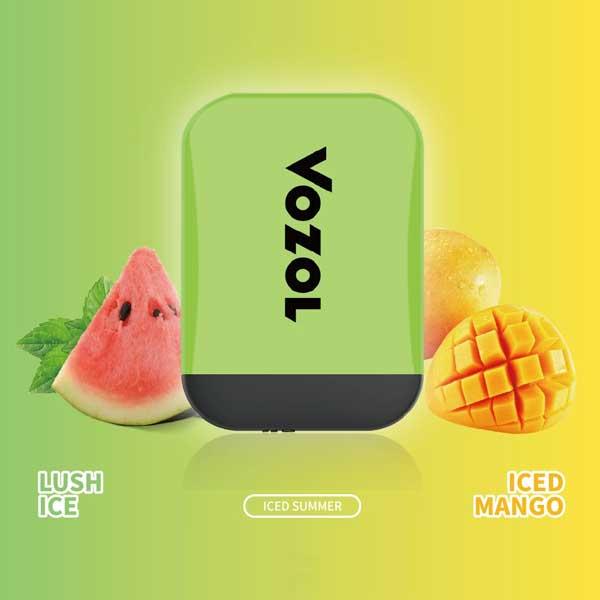 Vozol Lush Ice - Iced Mango Disposable Vape