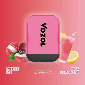 Vozol Lychee Ice -pink lemoande Disposable Vape
