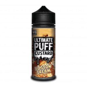 Ultimate Puff Custard boston cream 120ml eliquid